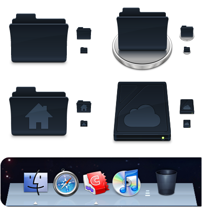Agua Onyx Folders preview