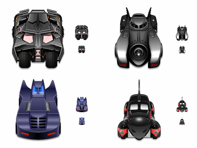 Batmobiles Vol. 1 preview