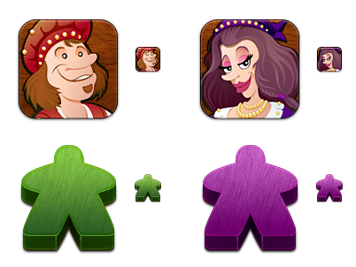 Carcassonne Meeple and People preview