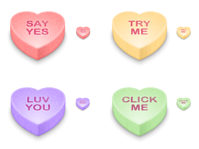 Valentine Hearts preview