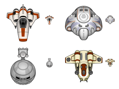 Baby Spaceships