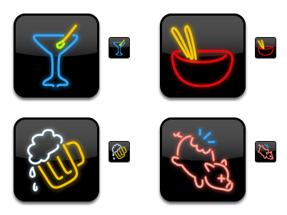 Dine-O-Matic Icons