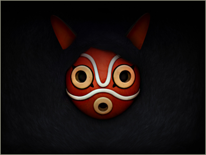 Mononoke Mask Dark preview