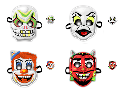 Retro Masks