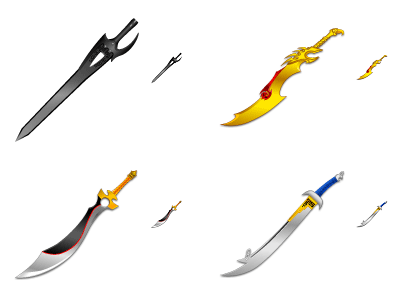 Storm Riders - Swords
