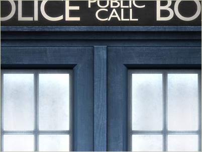 The TARDIS preview